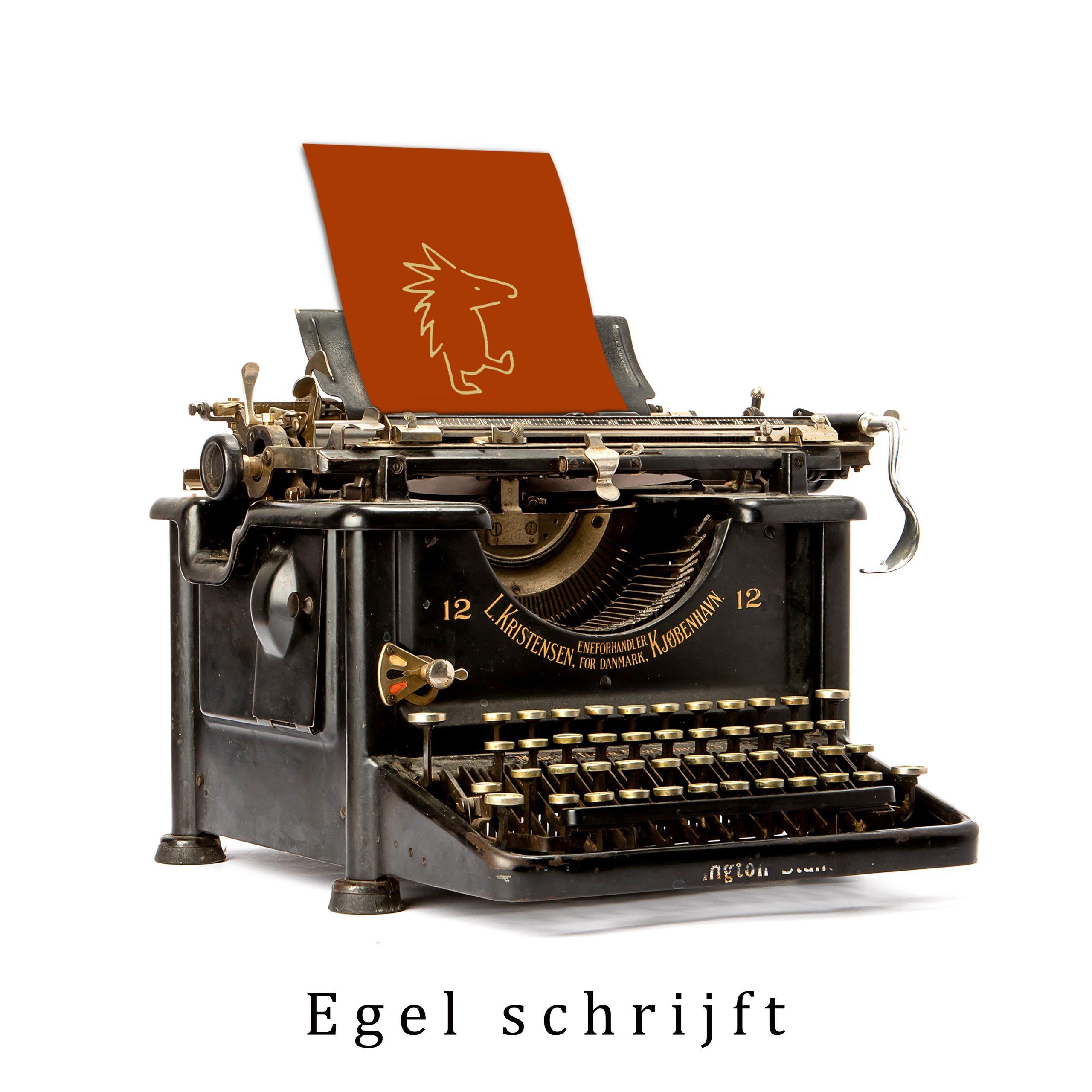 Egel schrijft